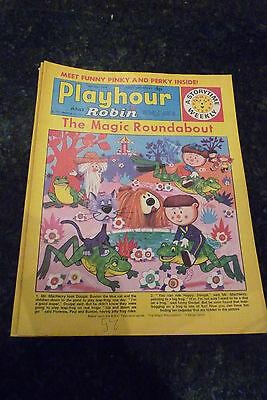 "PLAYHOUR & ROBIN - (1972) - Date 08/07/1972 -  Inc ""The Magic Roundabout"""