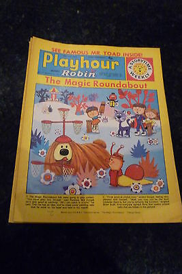 "PLAYHOUR & ROBIN - (1972) - Date 29/07/1972 - Inc ""The Magic Roundabout"""