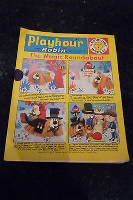 "PLAYHOUR & ROBIN - (1973) - Date 05/05/1973 - Inc ""The Magic Roundabout"""