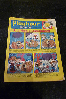 "PLAYHOUR & ROBIN - (1973) - Date 12/05/1973 -  Inc ""The Magic Roundabout"""
