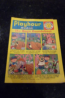 "PLAYHOUR & ROBIN - (1973) - Date 19/05/1973 - Inc ""The Magic Roundabout"""