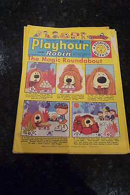"PLAYHOUR & ROBIN - (1973) - Date 07/07/1973 -  Inc ""The Magic Roundabout"""