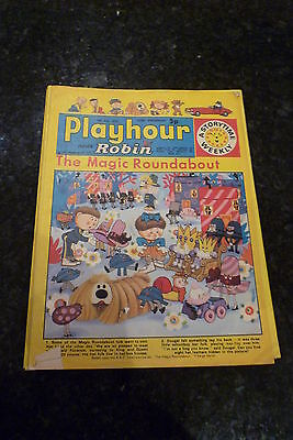 "PLAYHOUR & ROBIN - (1973) - Date 14/07/1973 - Inc ""The Magic Roundabout"""