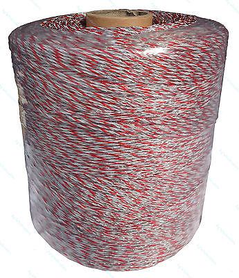 Poly Wire 2000M 0.08 Ohm/m Ultra Low Electric Fence Polywire Hot Wire Fencing