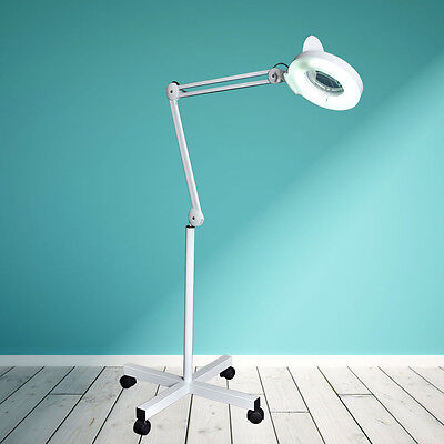 HOT SALE Magnifier Lamp Floor Standing Magnifying 5 x Magnification Salon beauty