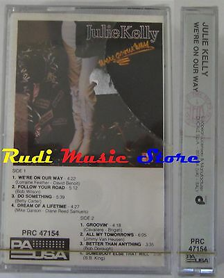 MC JULIE KELLY WE'RE ON OUR WAY 1984 SIGILLATA ITALY no cd lp dvd vhs