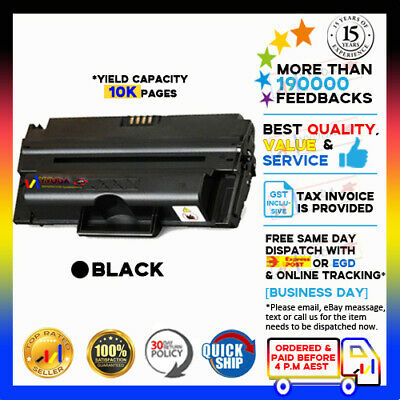 3x BLACK TONER CARTRIDGE for FUJI XEROX PHASER 3435 P3435 CWAA0763 LASER PRINTER