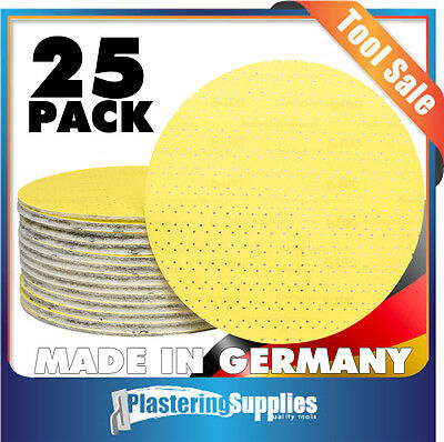 Plaster Sanding Super Pads JSD 220 Grit 225mm 25 Pack JSD-220 Made In Germany