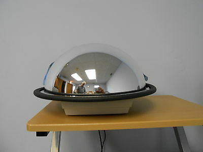 "24"" Industrial Rated Acrylic  Security & Safety Half Dome Mirror Made in USA"