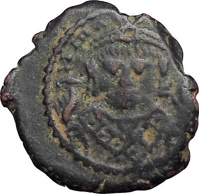 MAURICE TIBERIUS 582AD  Ancient Medieval Byzantine Coin  i28327