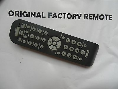 Rca universal remote control rcr3273 functions tv sat cbl dvd vcr.