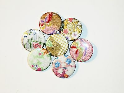 Origami Button Pins - Lot #6