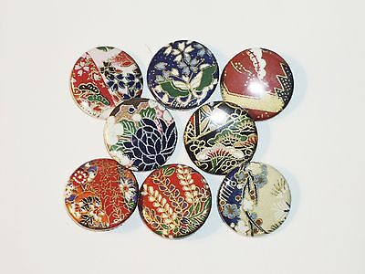 Origami Button Pins - Lot #7