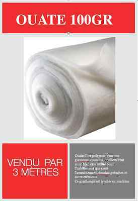 ouate polyester blanche 100gr 200gr 500gr m2 prix au metre eur 4 05 picclick fr. Black Bedroom Furniture Sets. Home Design Ideas