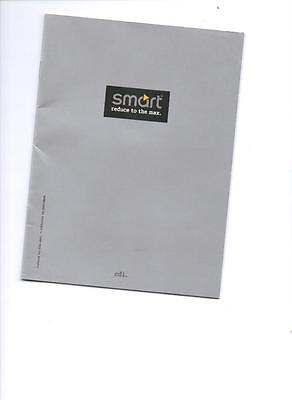 SMART cdi  FRENCH SALES BROCHURE 1999 2000