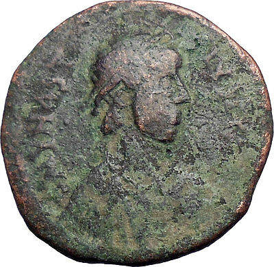 ANASTASIUS 491AD Follis LARGE Rare  Genuine Ancient Byzantine Coin  i28373