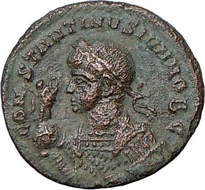 CONSTANTINE II Jr. Constantine the Great son323AD Authentic Ancient Roman Coin