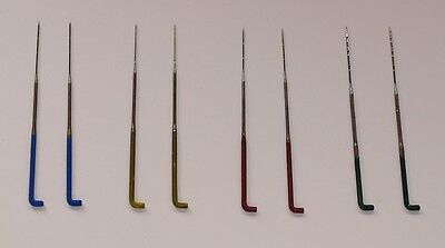 Needle Felt Needles - Colour Coded Mixed Gauge - Pack Of 8 - Next Day Dispatch