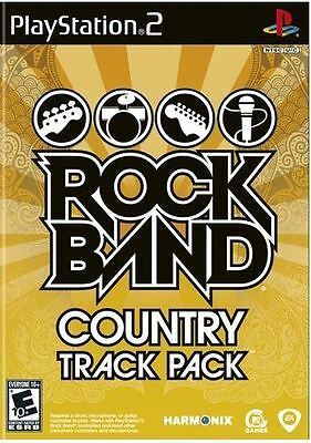 Rock Band Track Pack: Country  (PlayStation 2)