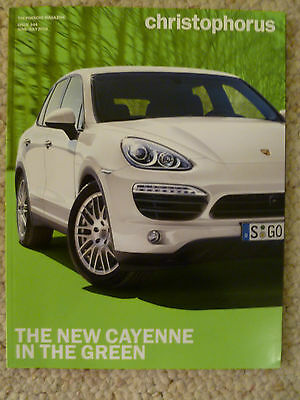 Porsche Christophorus Magazine English #344 June / July 2010 RARE!! Awesome L@@k