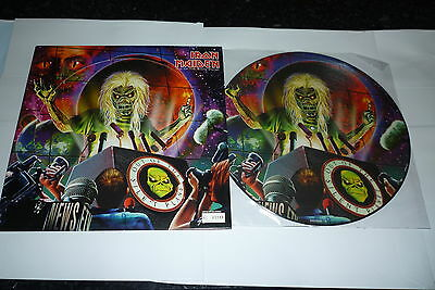 "IRON MAIDEN Out Of The Silent Planet  2000 UK limited edition 3-track 12"" vinyl"