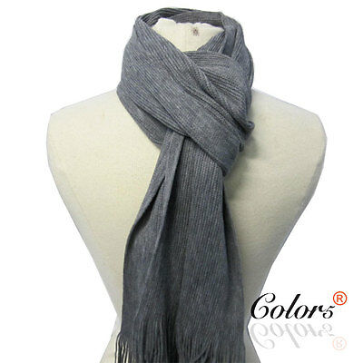 NEW Men Knit Soft Winter Business Smart Causal Fashion Scarf