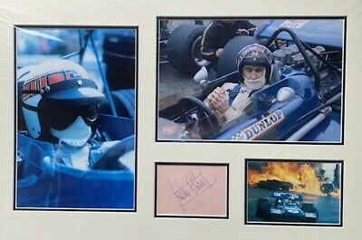 Jackie Stewart Signed Autograph