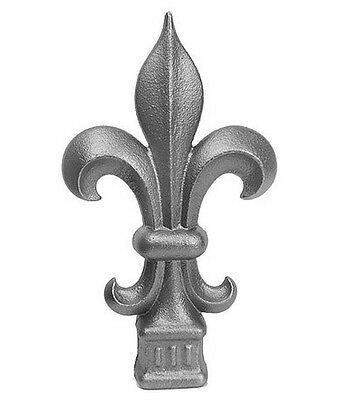"""Cast Iron Fence Finials-Fits Over 3/4"""""""