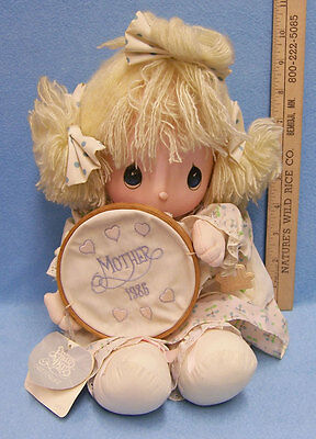 Vintage 1986 Applause Precious Moments Katie Plush Stuffed Mother's Day Doll