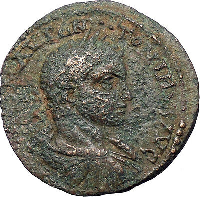 Elagabalus Very Rare HUGE Ancient Roman Coin Two nude athletes  i28556