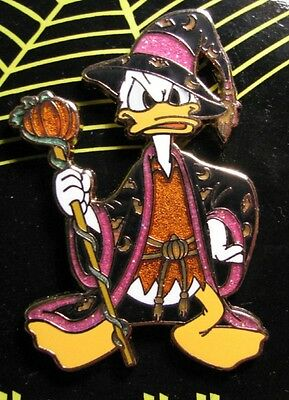 Disney  Donald Duck - Halloween Sorcerer Magic Pumpkin Pin NEW RARE