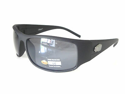 New Indian Motorcycle Mens Unisex Sport Wraparound Driving Sunglass Black 2013