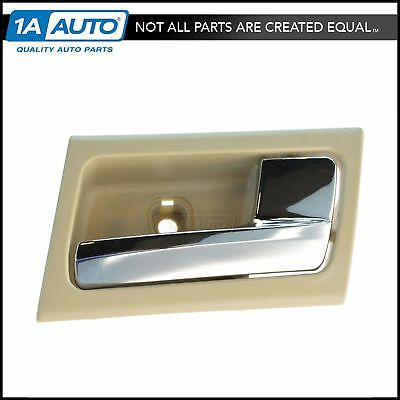 Camel & Chrome Inner Inside Door Handle Right RH for Crown Vic Grand Marquis