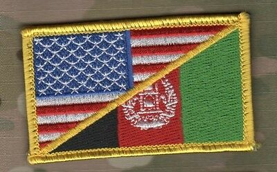 MARINES FORCE RECON RANGERS PATCHFINDER VELCRO FLAG: JSOC JOINT US/AFGHANISTAN