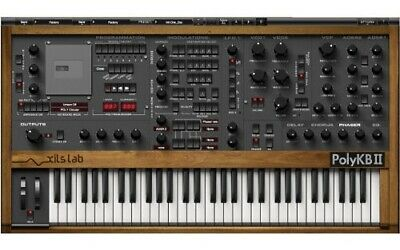 New XILS-lab PolyKB II Synthesizer Mac PC VST AU RTAS Plug-in Analog Synth Soft