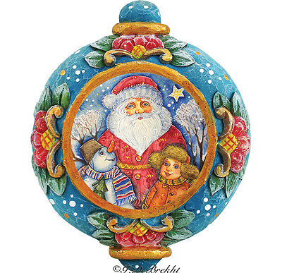 G DeBrekht Derevo Holiday Friendship Ornament 6102424