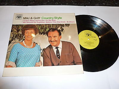 MIKI & GRIFF - Country Style - 1967 UK Marcle Arch label 10-track vinyl LP