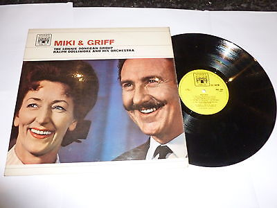 MIKI & GRIFF - MIKI & GRIFF - 1961 UK Marcle Arch label 10-track vinyl LP