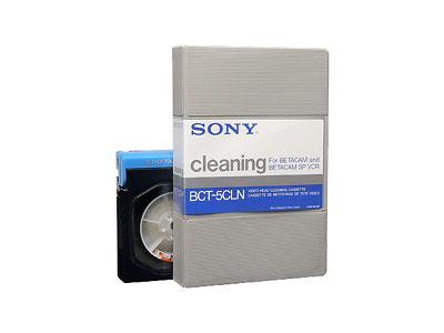 SONY BCT-5CLN Cleaning Reinigungskassette BETACAM SP Betamax NEU (world) 001-706