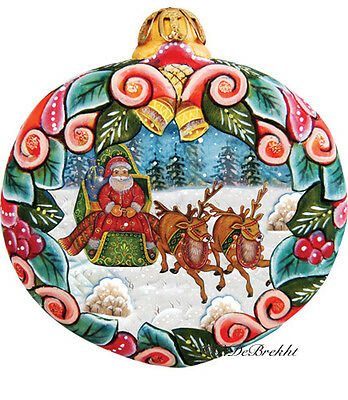 G DeBrekht 2012 Holiday Sleigh Ride Ornament 610313