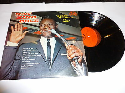 NAT KING COLE - Come Closer To Me - 1971 UK 12-track stereo LP
