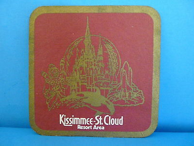 Beer-Drink Coaster Mat ~ Kissimmee-St. Cloud ~ Big Time Attractions ~ Florida