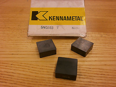 BRAND NEW Kennametal SNG 653T K090 Ceramic Inserts 511SO