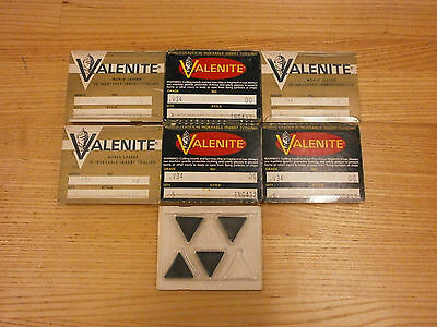 BRAND NEW Valenite TNG 432 V34 Ceramic Inserts 490SO