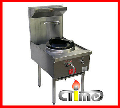 NEW Wok Stove Waterless Single Ring Stainless Steel Commercial Catering CWS-H1