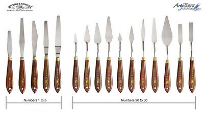 Winsor & Newton Painting / Palette knives - Choice of knife sizes
