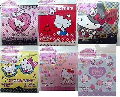 Sanrio Japan Hello Kitty Face Oil Blotting Tissue Paper 50 Sheets