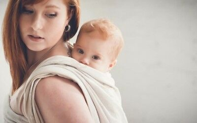 Baby Sling Carrier Papoose - Birth - 3 Years - Breastfeeding
