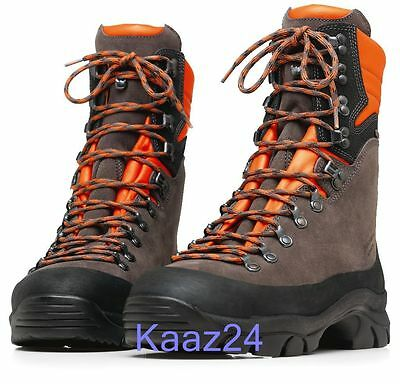 Husqvarna Leather Chainsaw Safety Boots Technical 24 All Sizes