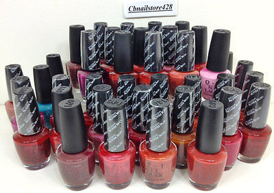 Discontinued OPI Nail Lacquer - Collection of VERY RARE Colors .5oz (Series 6)
